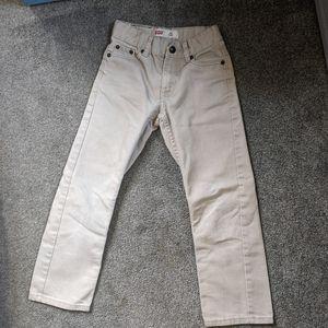 Levi's 511 khaki/tan jeans